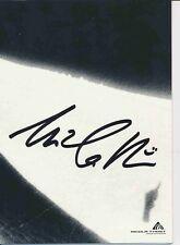 Nicola Thost ski alpin freestyle autografiada mapa original firmado 380171