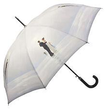 Parapluie Protection UV Amour Dame Pour homme gris Art Vettriano Danse avec mir