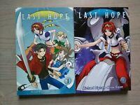 Last Hope 1-2, Lot of 2 Shonen Manga, English, 13+, Michael Dignan