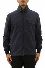 Aspesi Navy Cotton Windbreaker Jacket, Size Small - BNWT, RRP £250