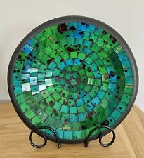 Handmade Decorative Mosaic Bowl With Stand