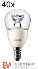 40x Philips E14 Small Edison Screw 4 Watt LED Spot Warm White [Energy Class A+]