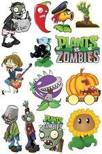 A5 Size Plants VS Zombies Skateboard Luggage Laptop Phone Vinyl Stickers S0012