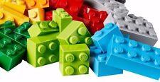 Lego Set 100 Bulk ALL BRICKS BLOCKS LOT Mixed Sizes Basic Pieces Mix
