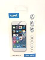 2 x Caseit iPhone 6S & 6 Clear Transparent Screen Protector Guard Overlay
