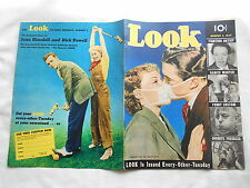 VINTAGE LOOK MAGAZINE--AUGUST 3,1937-JOAN BLONDELL & DICK POWELL BACK COVER