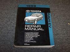 1999 Toyota Rav4 EV Crossover Workshop Shop Service Repair Manual Special 2.0L