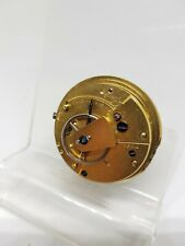 Antique fusee Movement For Pocket Watch c1850 working