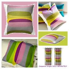 IKEA Malin Figur Pillow Cushion Cover- NIP NEW Purple Lime Green Gray Circle MOD