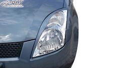 RDX Scheinwerferblenden SUZUKI Swift 3 MZ EZ Böser Blick Blenden Spoiler Tuning