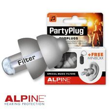 Alpine Party Plug Ear safety Protection Music Noise Filter Reusable Discrete