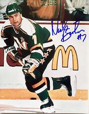 Neal Broten Minnesota North Stars signed 8x10 Photo W/COA