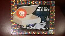 Shure Mosaic Tile Box . 2003 New and still factory sealed. Great craft, Rare