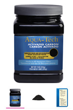 Lot of 7 - Aqua-Tech ACTIVATED CARBON WORKS WITH ALL AQUARIUM WATER FILTERS