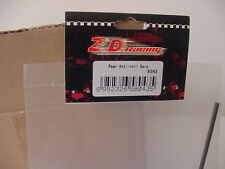 ZD RACING PART NUMBER 8043 R/C REAR ANTI-ROLL BARS 4WD BRUSHLESS RC BUGGY