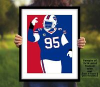KYLE WILLIAMS Buffalo Bills Photo Art in 8x10 or 11x14 - Football Picture Print