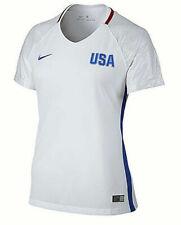 Nike Womens USA 2016 Stadium Olympic Soccer Jersey White Size Large L