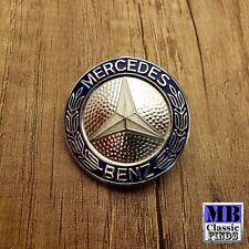 GENUINE NOS Mercedes Benz W123 early badge emblem radiator grille 1238800088