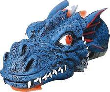 "Dragon Head Stick Cone Incense Holder Burner 11"" L Blue"
