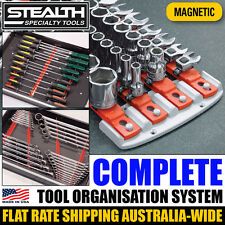 STEALTH Complete Socket System and Magnetic Combo Tool Organisation Wrench ERNST