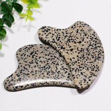 Natural Speckle Stone Dolphin shape Jade Guasha Body Scraping Massage Tool