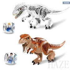 Mini Figures Building Toys Gray Masrani Indominus Rex Tyrannosaurus Rex useful