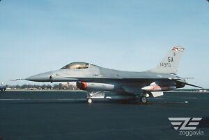 Original slide 82-0996 Lockheed F-16 U.S. Air Force, USAF, 1993