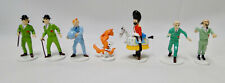New Herge Tintin Pixi Moon lead set ltd. 1000 pcs. 7 fig. + gift