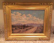 Vintage Southwestern  Impressionist Desert Painting