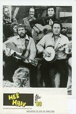BUCK OWENS ROY CLARK PLAY GUITAR AND BANJO HEE HAW ORIGINAL 1983 TV PRESS PHOTO
