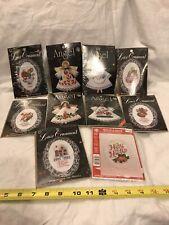 Lot of 10 Assorted Christmas Themed Cross Stitch Kits NIP