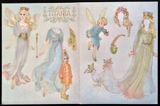 Princess Titania Paper Doll, By Helen Page, Mag. Color Plate