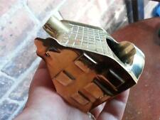Nice old vintage metal brass cigarette smokers ashtray Smoking chimney House