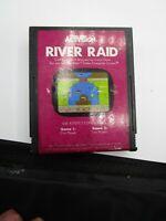 RIVER RAID - ATARI 2600 VIDEO GAME CARTRIDGE