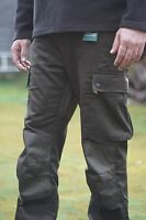 Milano Hardshell Waterproof Trousers Hunting Shooting Olive Green