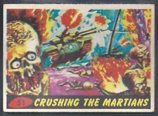 A&BC-MARS ATTACKS 1965-#51- CRUSHING THE MARTIANS