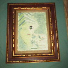1968 Nancy Truman Black Magic Painting Laura Lee Studio Walla Walla Washington