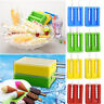 2PCS Silicone Popsicle Molds Ice Cream Lolly Maker with 2 Lids +Sticks BPA Free