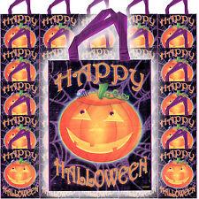 25 feliz Halloween Fiesta sonriente calabaza gigante dulce o travesura Bolsas de botín favor