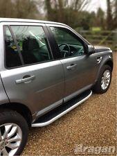 To Fit 2011+ Land Rover Freelander 2 Running Boards Side Steps Bars Skirts