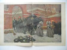 ORIGINALE FOGLI DAL Rivista gioventù 1911 - Angelo Jank (B173)