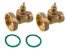 22mm Central Heating Pump Valves (Gate-valve Type) (Pack of 2)