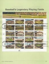 #0132 Legendary Playing Fields #3510-3519 Souvenir Page