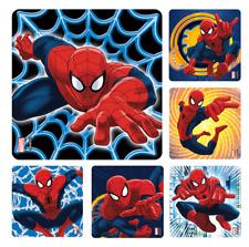 "25 Spiderman Stickers, 2.5"" x 2.5"" each"