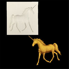 Unicorn Horse Silicone Fondant Mold Cake Decorating Chocolate Sugarcraft Mould