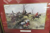 Framed Art Print of A Hunt