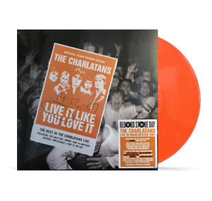 The Charlatans Live It Like You Love It Double LP Colour Vinyl RSD 2020 New
