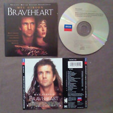 CD OST Colonna Sonora James Horner,London Symphony Orchestra Braveheart(OST1)