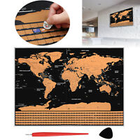 Xxl Scratch World Map Scratch Off World Map Country Card For Free