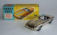 Corgi Toys No. 312, 'E' Type jaguar Competition Model, - Superb Mint Condition.